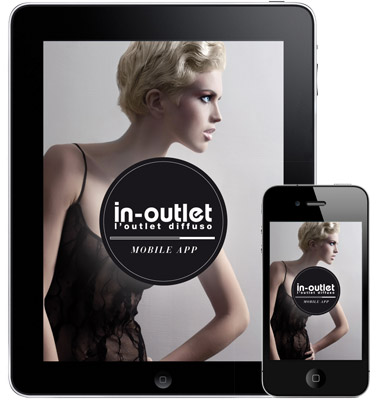In-outlet App for iPhone and iPad