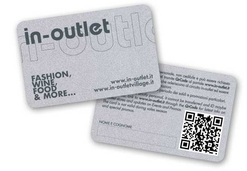 In-Outlet Card for discount on outlets