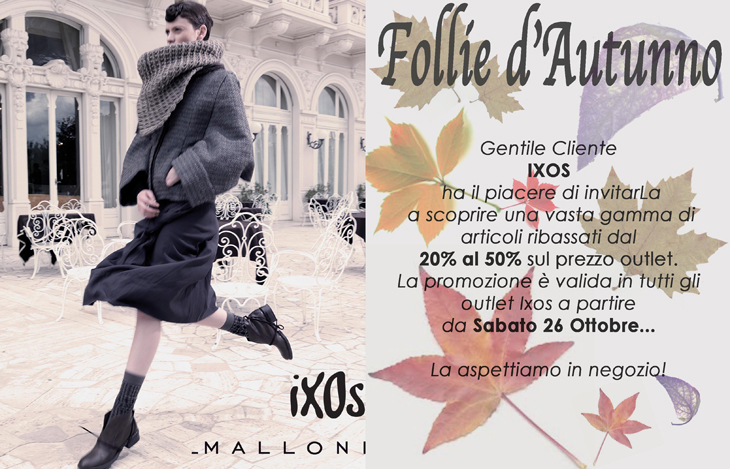 on sale 77633 99011 Fall Follies from IXOS Malloni!   In-outlet