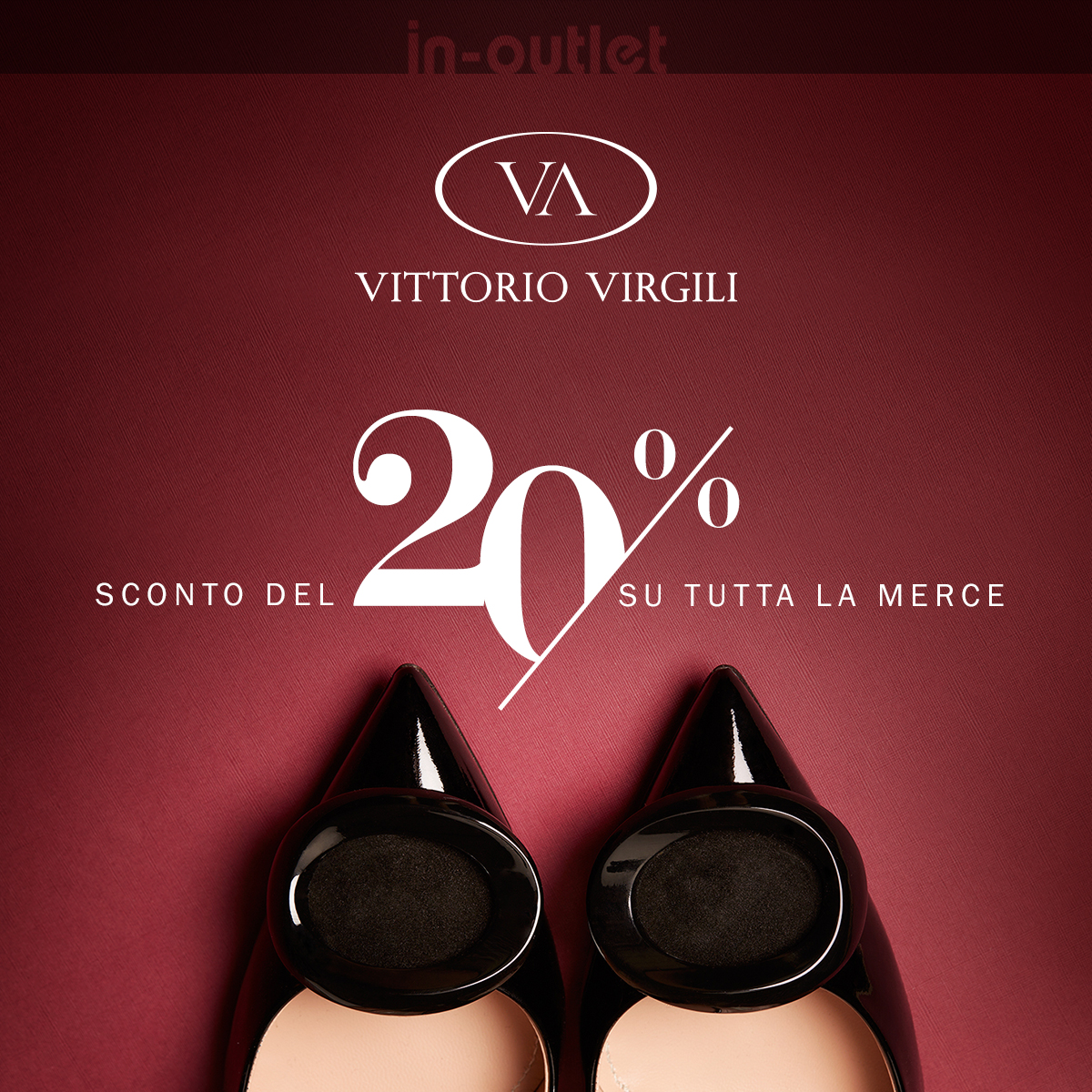 Special promo up to 20% at Vittorio Virgili Factory Store